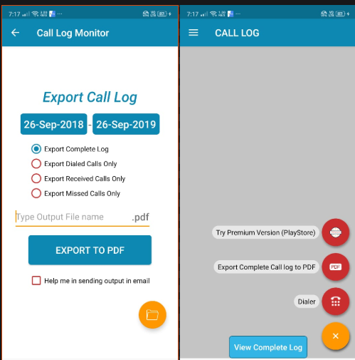HOW TO GET ALL CALL LOGS