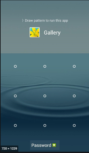 gallery lock application