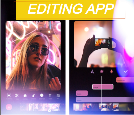 VIDEO EDITING APPLICATION