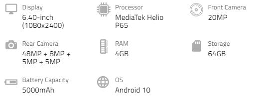 Samsung GalaxyA31