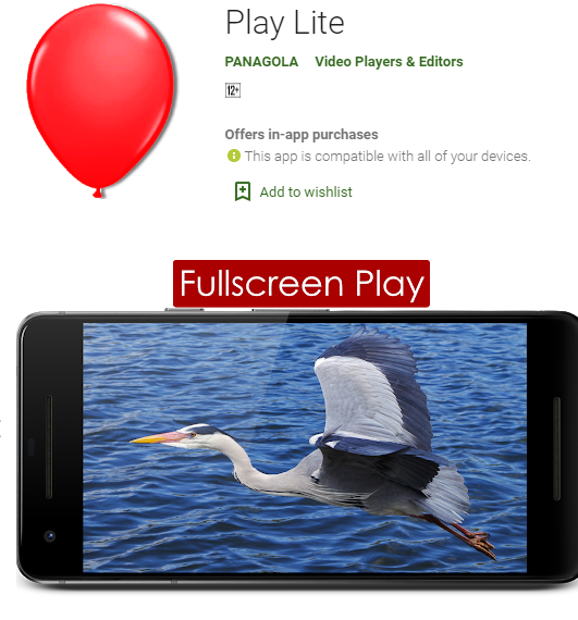 Play Lite Application