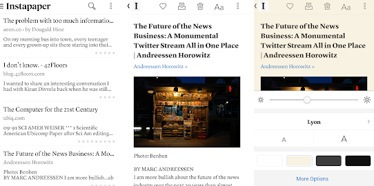 instapaper application 2021
